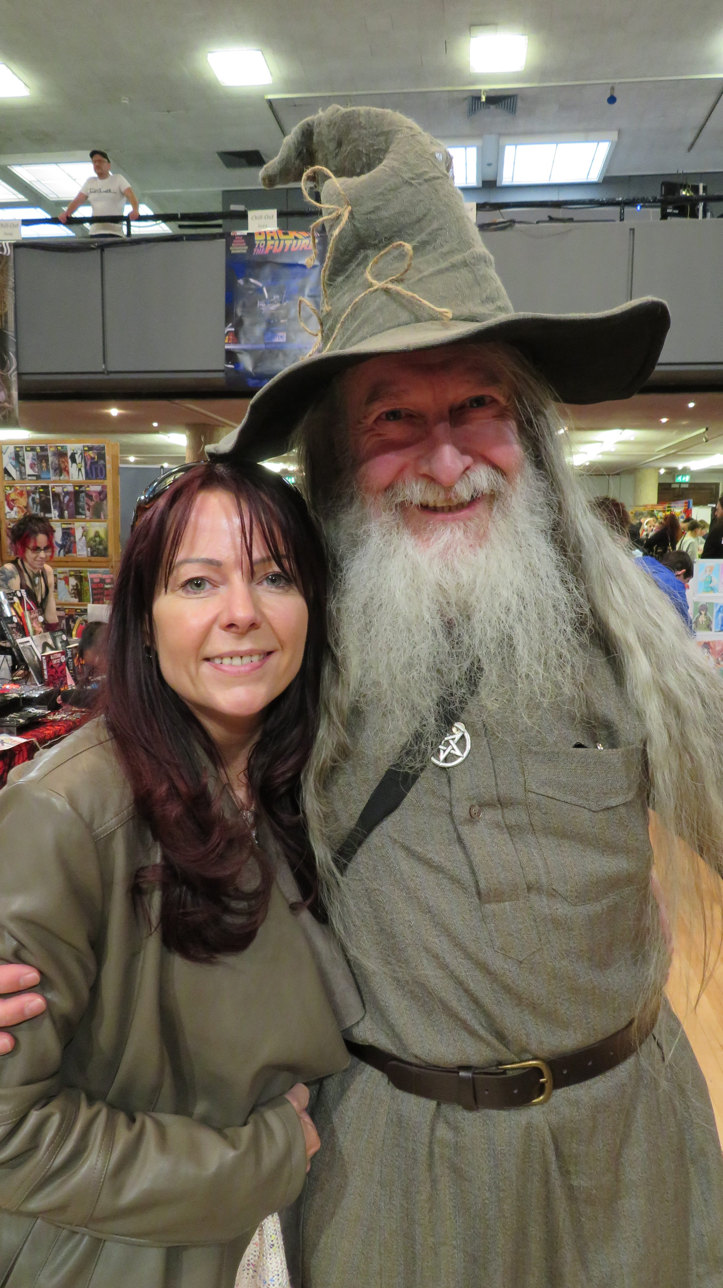 Michelle and Gandalf